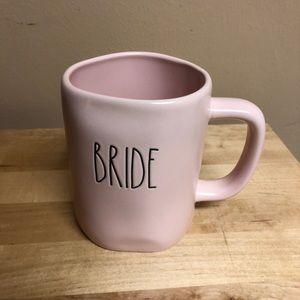 "Beautiful New Pink Rae Dunn ""Bride"" Mug"